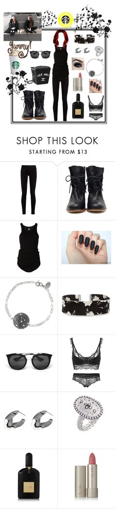 """""""Trelly Goilly Doilly Seli Pretty Chedi"""" by killasuki ❤ liked on Polyvore featuring Gucci, Rick Owens, Nashelle, Steve Madden, Prada, Adele Marie, Freida Rothman, Tom Ford, Too Faced Cosmetics and Ilia"""