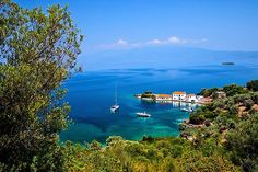 Tzasteni, a picturesque tiny hamlet and beautiful bay close to Milina town, Southern Pelion, Magnessia, Thessaly, Greece. Hercules, Sell Your Art, Top Artists, Greece, Southern, River, Island, Mountains, Outdoor