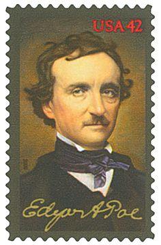 2009 42c Edgar Allan Poe - Catalog # 4377 For Sale at Mystic Stamp Company