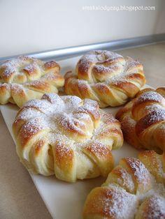 Polish Desserts, Polish Recipes, Dough Recipe, Cupcakes, Homemade Cakes, Sweet Bread, Muffin Recipes, Coffee Cake, Muffins
