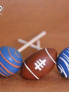 Super Bowl / Football Cake Pops