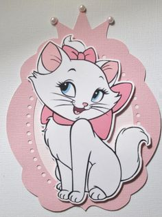 Marie Aristocats Party Invitations  Set of 8 by ThePaperPartyBox
