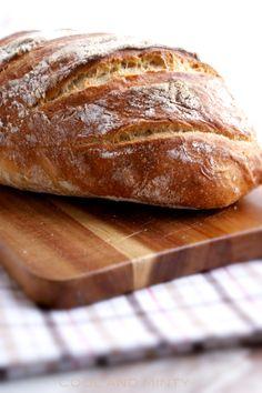 HOMEMADE BREAD http://coolandminty.blogspot.com/2014/11/chleb-bez-zagniatania.html