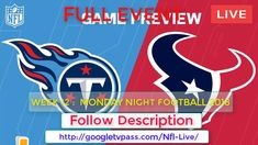 Houston vs Titans Live   How to Free Watch Online without Money