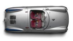 1955 500 Porsche Spyder Overhead /www.1stdibs.com/art/photography