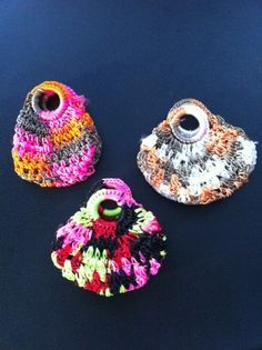 Sweet, little jewelry bags from a market in Otavalo, Ecuador