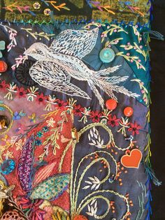 Bird detail by Robyn Ginn