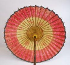 Antique Meiji Period Japanese Bamboo Parasol www.JJamesAuctions.com