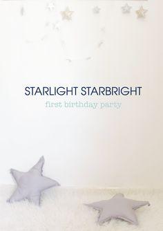 starlight starbright. | first birthday party