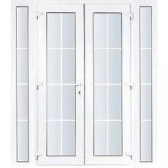 Patio doors and screens on pinterest for Narrow french patio doors
