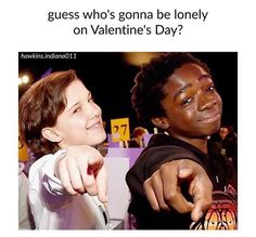 ... what makes it worse is that Valentine's Day is my birthday. Everyone's always busy lol