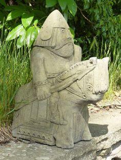 Viking Medieval Lewis Knight Chess piece | eBay