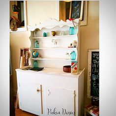 Vintage Kitchen Hutch  Pickin Daisies  https://www.facebook.com/PickinDaisies