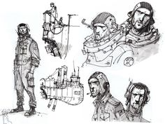 Ian McQue Sketches On Twitter | It is based on a sketch made by the awesome Ian McQue . He makes some ...