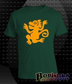 Legends Of The Hidden Temple - Green Monkeys (T-Shirt) - Outlaw Custom Designs, LLC