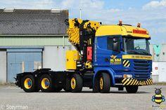 Scania. Autokraan.