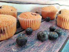 Menta&Azafrán: Muffins de arándanos