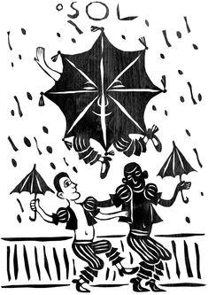 O SOL A vitalidade, clareza, calor, sucesso e os bons sentimentos da carta são representados na figura do Frevo (ritmo musical e uma dança brasileira com origem no estado de Pernambuco, misturando marcha, maxixe, dobrado e elementos da capoeira. Declarado Patrimônio Imaterial da Humanidade pela UNESCO em 2012).