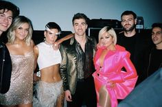 Shawn, Kelsea Ballerini, Halsey, The Chainsmokers and Bebe Rexha at the VSFS Chainsmokers, Halsey, Andrew Taggart, Kelsea Ballerini, Chon Mendes, Bebe Baby, Vs Fashion Shows, Bebe Rexha, Demi Lovato