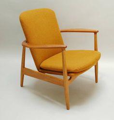 Arne Vodder Lounge Chair for Bovirke