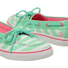Seafoam green, for a sweet little sailor. #sperry #mint #boatshoes