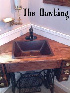 Check Out This Customer Submitted Photo Of Their Amazing Bathroom Sink! So  Creative! #