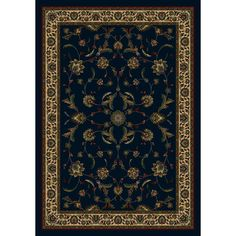 FREE SHIPPING! Shop Wayfair.ca for Milliken Signature Isfahan Sapphire Area Rug - Great Deals on all  products with the best selection to choose from!
