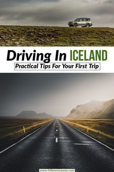 There are so many things to know about driving in Iceland before taking your first Iceland road trip! These driving tips for Iceland will help you plan your trip to Iceland safely! Taking an Iceland road trip around the ring road in Iceland has never been easier than with these driving tips! #iceland #icelandtravel #driving #travel #roadtrip #ringroad #kirkjufell #landscape