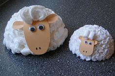Ovečky Sheep Crafts, Farm Animals, Art Activities, Ss, Children, Baby, Image, Carton Box, Catechism