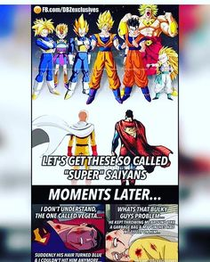 Some people really don't know how strong dbz characters really are. [Credit @official.bejita]