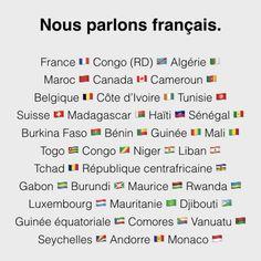 La francophonie désigne l'ensemble des personnes et des pays...