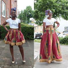 Short or Long Dashiki skirts which one do You prefer? I say pick both . www.oriwo-design.de #oriwodesign #hamburg #slowfashion #handmade #fashiondesign #africanfashion #ankarafashion #ankaraprint #africanwaxprint #headwrap #ankaraheadwrap #turban #turbanista #nudeheels #woodenearrings #africaninspiredearrings #dashiki #dashikimaxiskirt #dashikiskirt #angelinaprint #angelina #ankaramaxiskirt #africanmaxiskirt