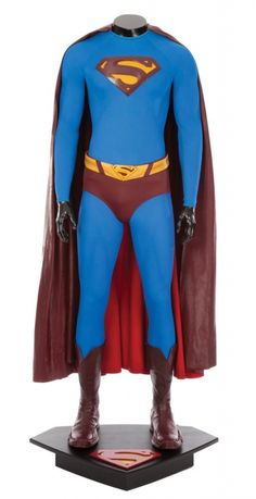 Hero Brandon Routh costume from Superman Returns Superman Characters, Superman Movies, Super Hero Outfits, Super Hero Costumes, Brandon Routh Superman, Mundo Superman, Superman Drawing, Superman Costumes, The Sorcerer's Apprentice