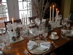new years eve tablescape using lenox opal innocence | tablescape