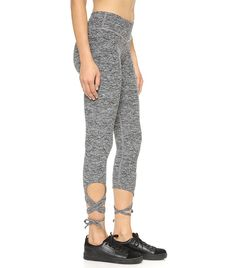 need me sum cutesy leggings! Beyond Yoga Space Dye Wrap Tie Leggings ($99)