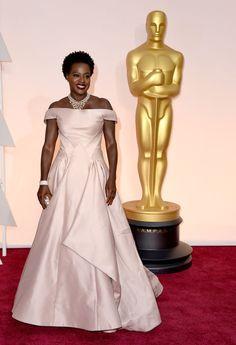 Viola Davis in Zac Posen @ 2015 Oscars