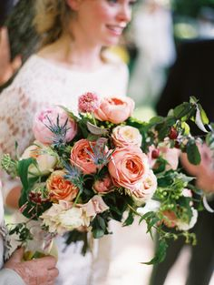 Bouquet Inspiration: Well aren't these flowers gorgeous? Photo on Snippet and Ink.