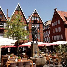 Kiepenkerl in der Altstadt #Münster