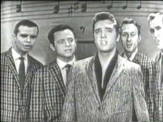 """Classic+Footage+Of+Elvis+Singing+""""Peace+In+The+Valley""""+On+Nationwide+TV"""