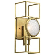 Kichler Vance 1 Light Wall Sconce in NBR