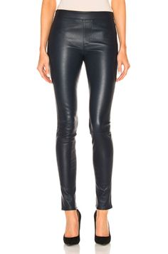 Shop for Helmut Lang Leather Legging in Sapphire at FWRD. Free 2 day shipping and returns.