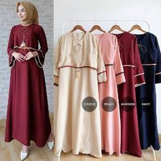 154 Best Gamis Modern Images On Pinterest In 2019 Hijab Dress