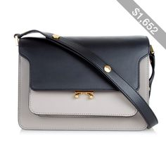Pre-owned - Trunk leather bag Marni zTH9B