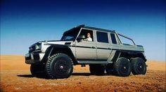 Richard Hammond tests a SUV in Abu Dhabi - Top Gear: Series 21 Episode Mercedes 6x6, Mercedes Benz G Class, Horse Transport, Top Gear Bbc, 6x6 Truck, Trucks, Best Lawn Mower, G63 Amg, The Dunes