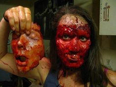 Great Halloween Makeup! So GROSS