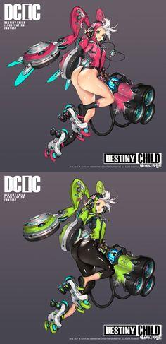 Destiny Child - Hyung Tae Kim Artworks