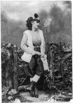 actress and philanthropist, Lotta Crabtree