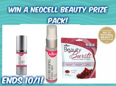 #Win NeoCell Beauty Prize Pack- Ends 10/1 US only
