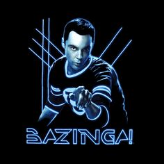 Camiseta chica Big Bang Theory. Sheldon Tron