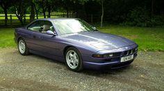 BMW 840 purple